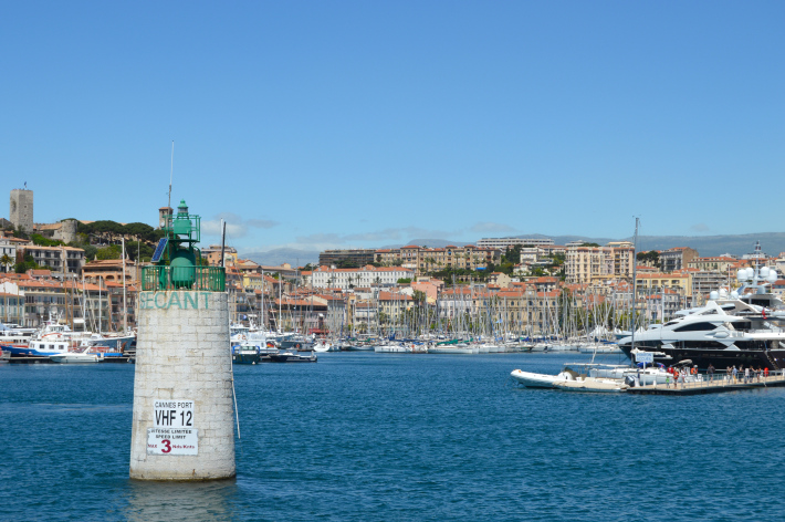 cannes port french riviera